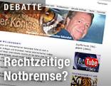 Homepage von Nationalratsabgeordnetem Werner Königshofer (FPÖ)