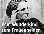 Fotografie des jungen Franz Liszt