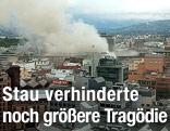 Luftansicht von Oslo nach Anschlag