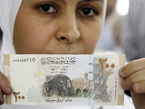Syrischer Geldschein