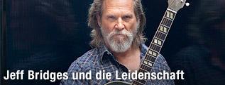 Jeff Bridges mit Gitarre