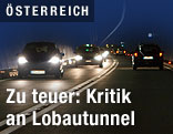 Tunnel mit Autos