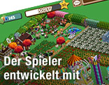 "Screenshot von Computerspiel ""Farmville"""