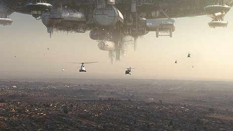 "Filmszene aus ""District 9"""