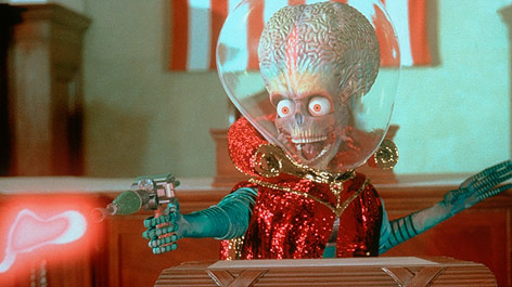 "Filmszene aus ""Mars Attacks"""