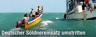 Piraten vor der somalischen Küste