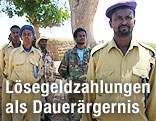 Soldaten der Somaliland Coast Guards