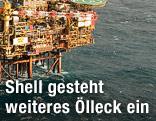 Shell-Ölplattform in der zentralen Nordsee