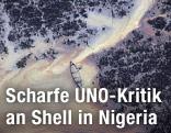 Ölverschmutzung im Nigeria Delta