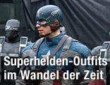 Chris Evans im Film Captain America