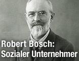 Unternehmer Robert Bosch 1925