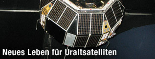 Modell von Prospero X-3 Satellit