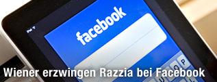 Facebook-Applikation auf einem iPad