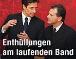 Ex-Finanzminister Grasser und Ex-Innenminister Strasser