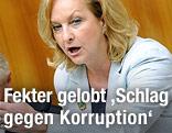 Finanzministerin Maria Fekter