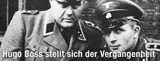 Zwei SS-Oberscharführer