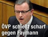 ÖVP-Klubobmann Karlheinz Kopf