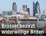Finanzbezirk in London