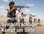 Rebellen mit Waffen