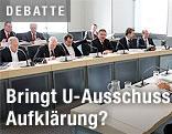 U-Ausschuss tagt
