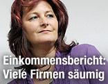 Die Vorsitzende der ÖGB-Frauen Brigitte Ruprecht