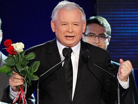 Oppositionsführer Jaroslaw Kaczynski