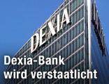 Dexia-Schriftzug