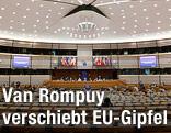 Sitzungsaal der Europäischen Union in Brüssel