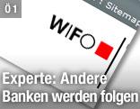 WIFO-Schriftzug