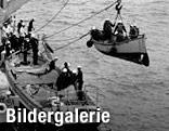 Rettungsboot wird geladen