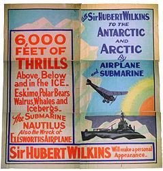 Werbeplakat für die Nautilus