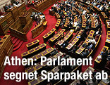 Plenarsaal des griechischen Parlaments