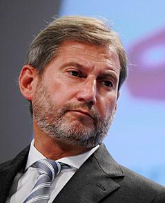 Johannes Hahn, EU-Regionalkommissar