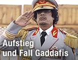 Ehemaliger libysche Machthaber Muammar al-Gaddafi
