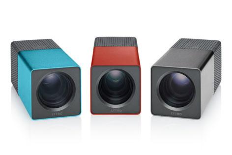 Drei Lytro-Kameras