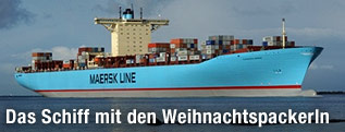 Frachter Eleonora Maersk