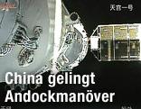 Chinesische Raumstationen docken an