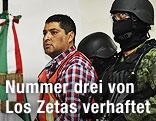 """Carlos Oliva Castillo alias """"La Rana"""" verhaftet"""