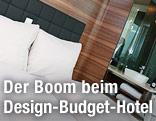 Zimmeransicht im Hotel Daniel in Wien