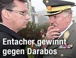 Verteidigungsminister Norbert Darabos und Generalstabschef Edmund Entacher