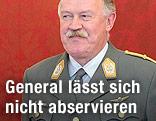 Generalstabschef Edmund Entacher