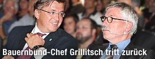 Bauernbund-Präsident Grillitsch und der deutsche Autor Thilo Sarrazin