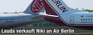 lauda verkauft niki an air berlin news. Black Bedroom Furniture Sets. Home Design Ideas
