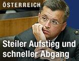 Fritz Grillitsch im Parlament