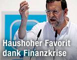 Rede des Spitzenkandidaten der konservativen Partido Popular (PP), Mariano Rajoy