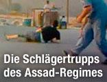 Menschen auf der Flucht in Syrien