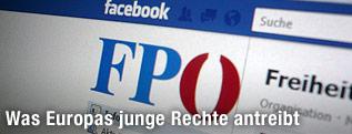 FPÖ-Eintrag in Facebook