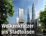 Wolkenkratzer-Projekt Angkasa Raya in Kuala Lumpur, Malaysia