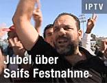 Libyer jubeln über Saifs Verhaftung