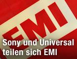 Logo auf EMI-Büro